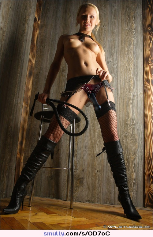 femdom boots whip