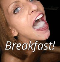 The BEST kind of breakfast! #ilovecum #yummy #caption