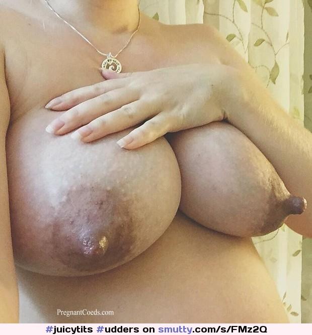 Lumpy breasts lactating
