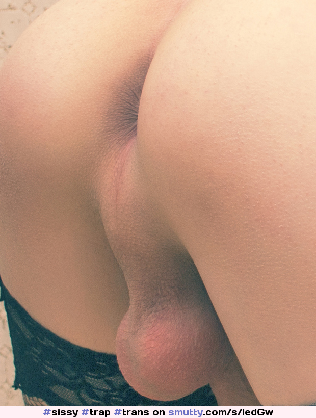 Smooth shaved ass
