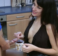Sperma Im Kaffee