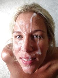 Blonde milf 3 facial loads