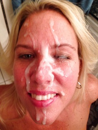 Blonde milf 3 facial loads