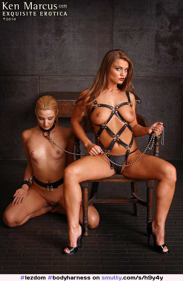 #lezdom#bodyharness#kenmarcux#dominance#submission#collaredandleashed#collaredblonde#smoothpussy#2010#femdomedfem