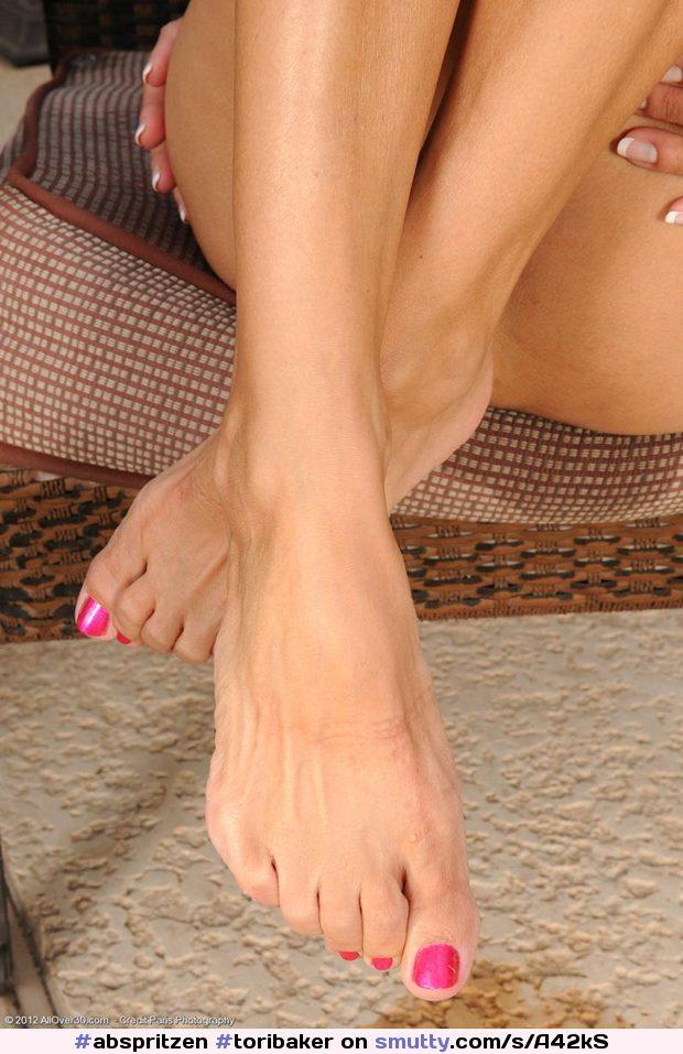 Foot model sexy sole toe