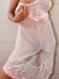 Shemale and petticoat