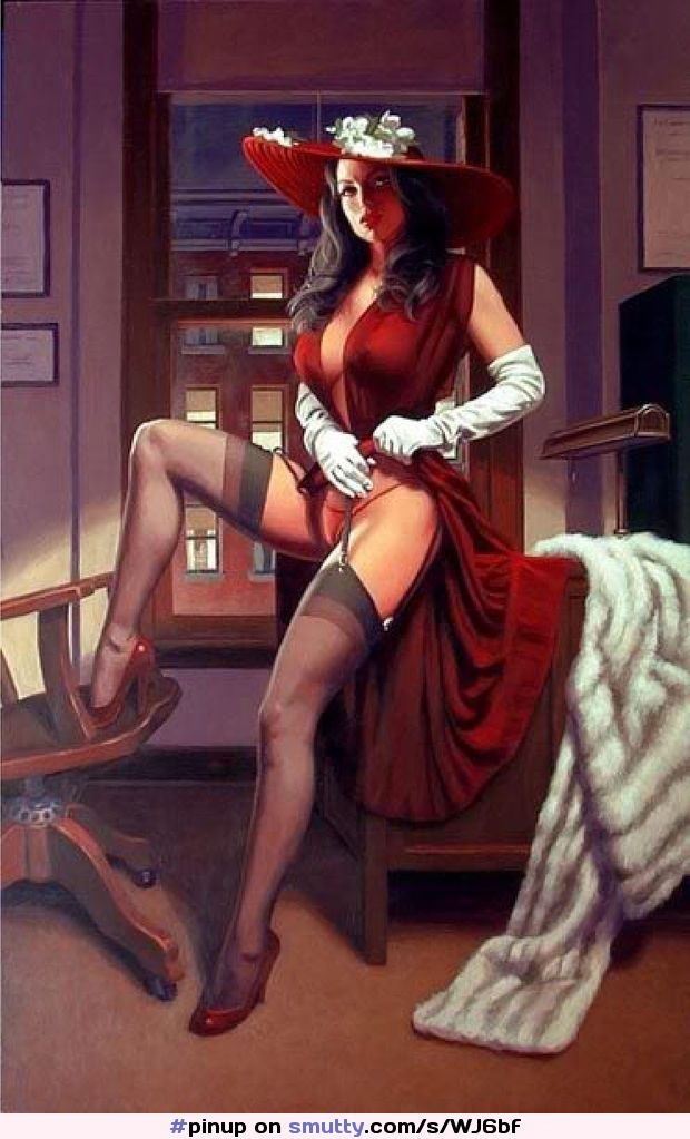 I've always enjoyed pin-up art, and I've been told i resemble her. #pinup