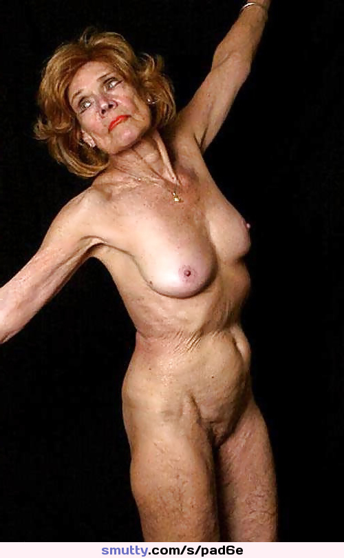 Old age naked women