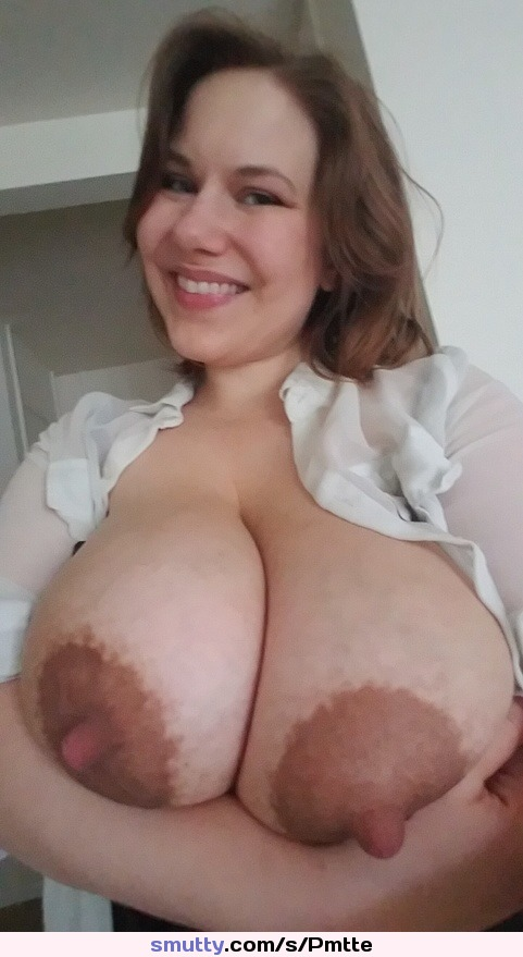 Sexy large areolas