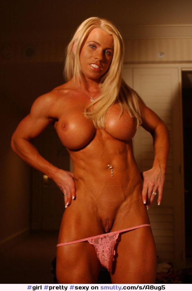 Bodybuilderin Muschisaft Schwarz Castingsex