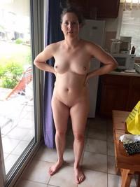kitchen amateur Milf naked