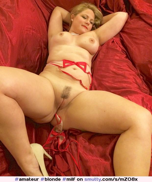 Blonde Mature Pussy