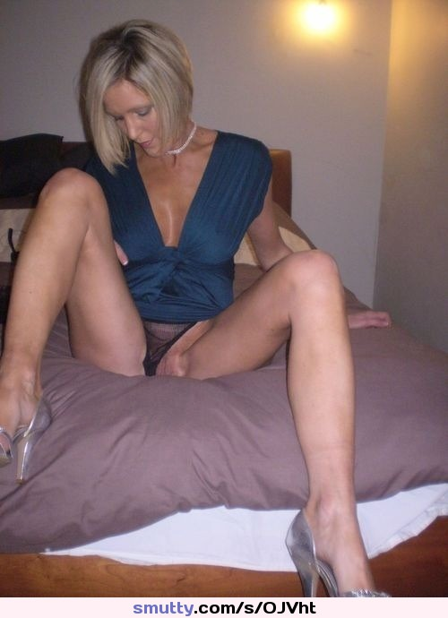 Blonde Milf Upskirt Pantie Slip In Dress - Daily Fap - The -9059