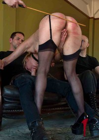 Milf caning