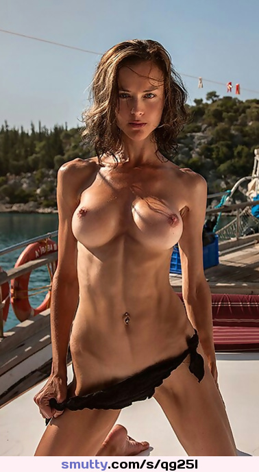 #perfecttits, #awesomebody, #simplygorgeous, #topless. #outdoors, #abs, #fit, #athletic