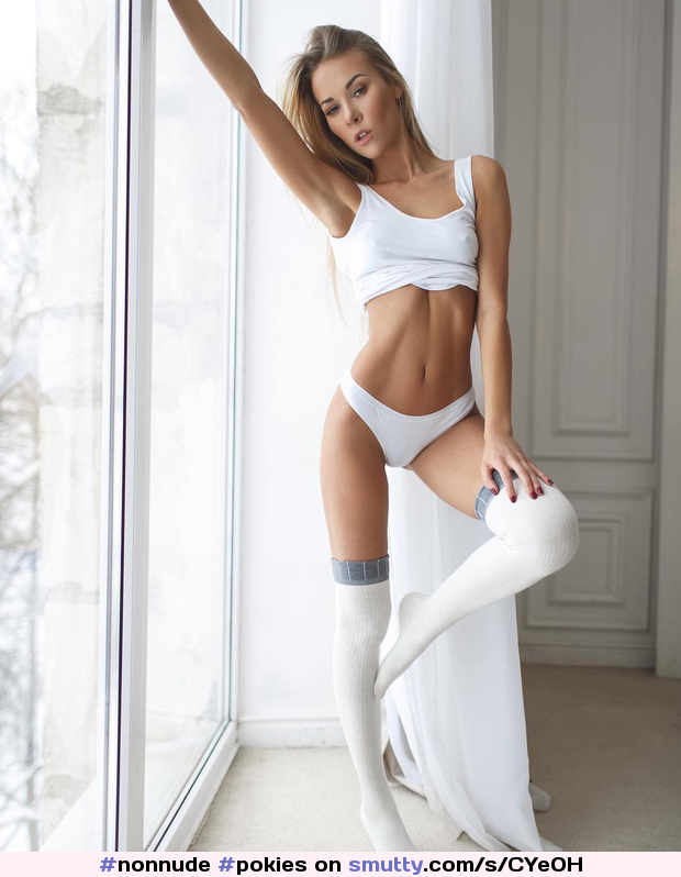 #nonnude, #pokies, #longsocks, #nonnude, #fit, #ans, #girlinthewindow, #eyecontact, #fuckmelook