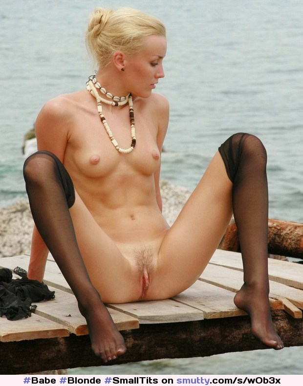 #Babe #Blonde #SmallTits #Public #Outdoor