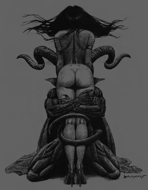 Black orgy woman