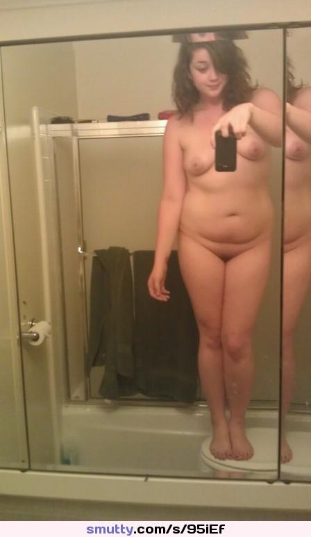 chubby self pic nude