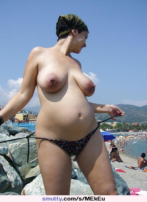 Topless beach pregnant, umbrella girl usa nude