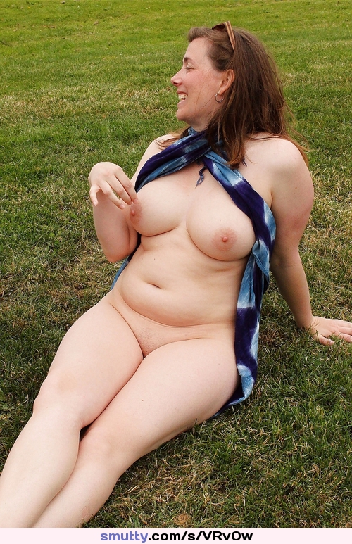 Something is. Chubby hairy gf outdoors nude seems
