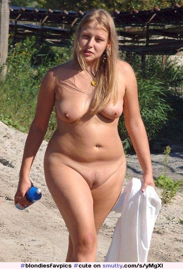 Cute Chubby Nude Amateur Smalltits Softbelly Blonde Outdoors  Smuttycom-3540