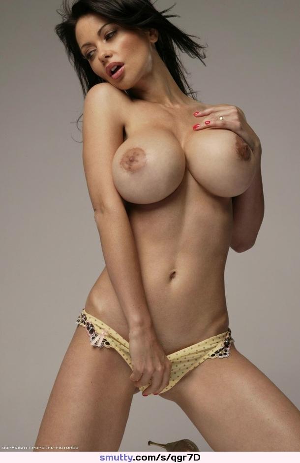 Slim with big fake tits