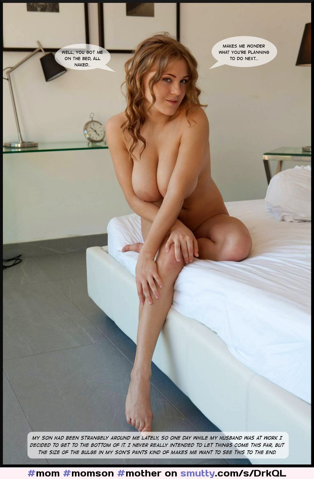 Naked milf caption