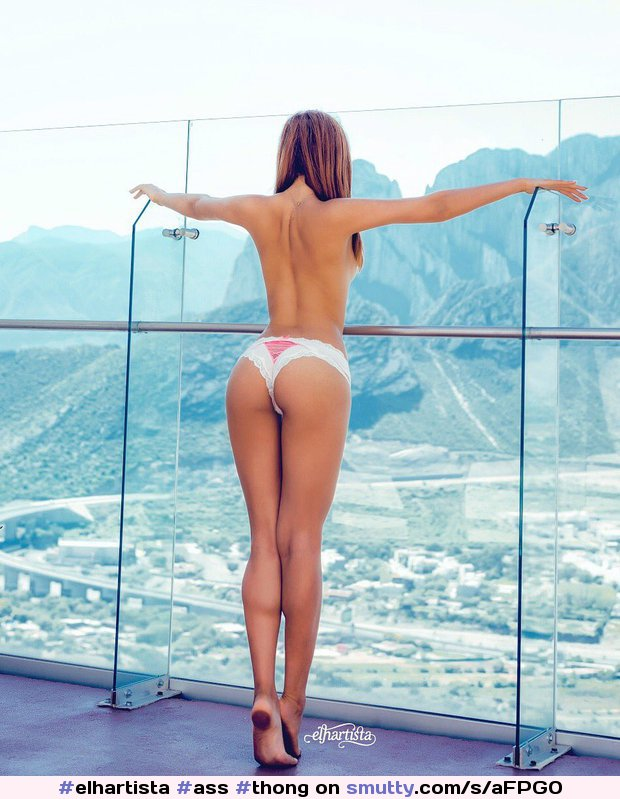 #elhartista #ass #thong #panties #sky #view