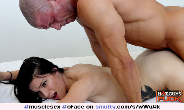 #musclesex #oface #frombehind