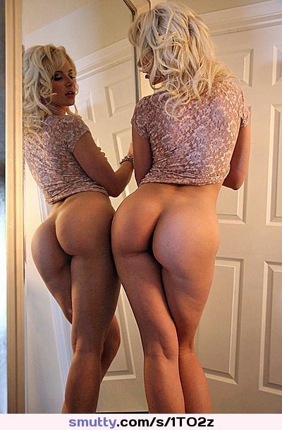 beautiful blonde butts