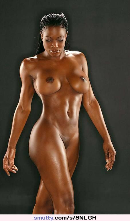 Sexy nude ebony female models