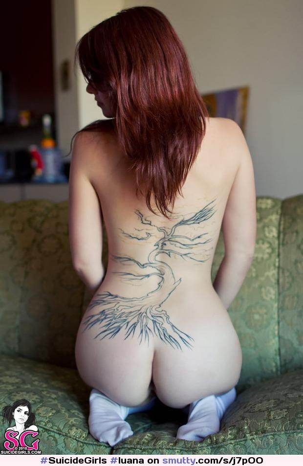 Luana suicide girl naked, kitsune anime hentai