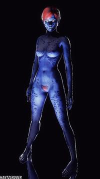 porn Mystique cosplay