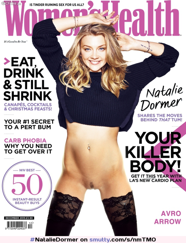 #NatalieDormer in her cover shoot that ALMOST made it to print.  #NicelyTrimmed #CelebrityCunt #LegGap #ConcaveLegs #bottomless