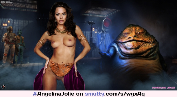 #AngelinaJolie auditioned for the new #StarWars movies but her #BaldCunt was too old-fashioned.