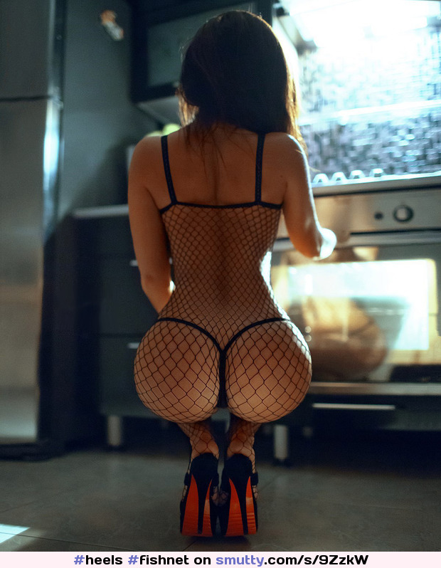 #heels #fishnet #bodystocking #hotbody
