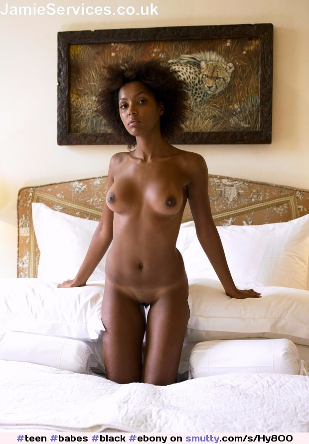 Sexy black girl tits