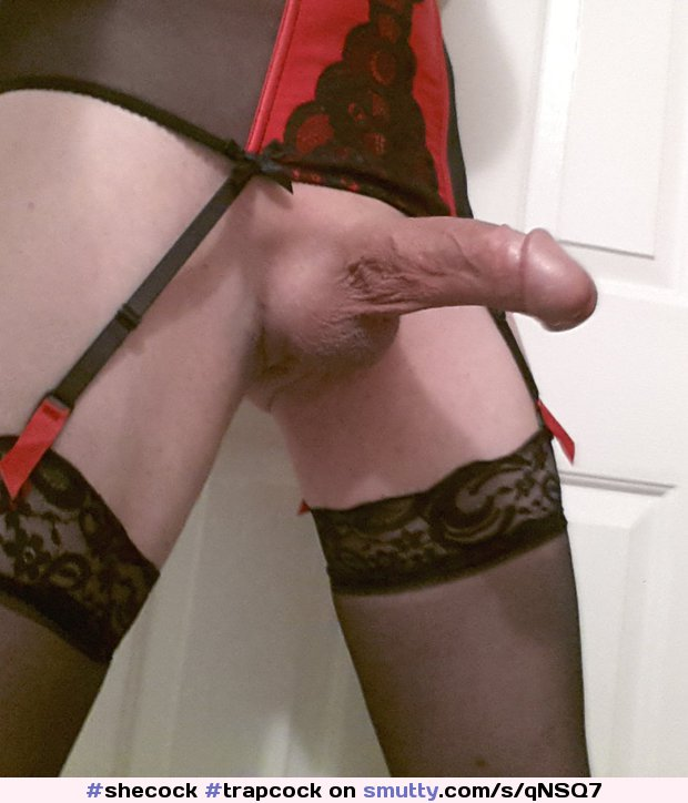 #shecock  #trapcock #girlcock #trannycock #tgirl #trap #tranny #stockings