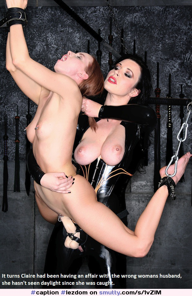 Caption Lezdom Revenge Suspended Bdsm Bondage  -7447