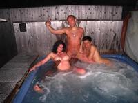 Hot tub nude sex pics