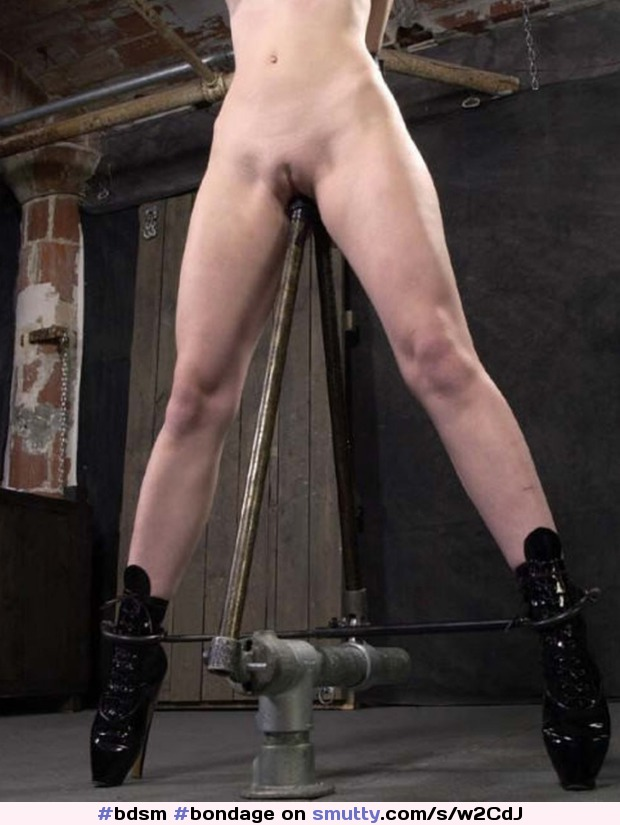 Impaled on a steel dildo stick — 15