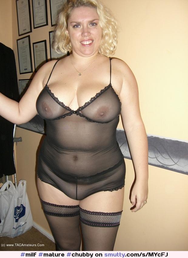 chubby mature blonde Bbw
