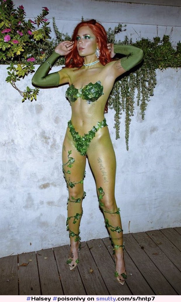 #Halsey #poisonivy #cosplay