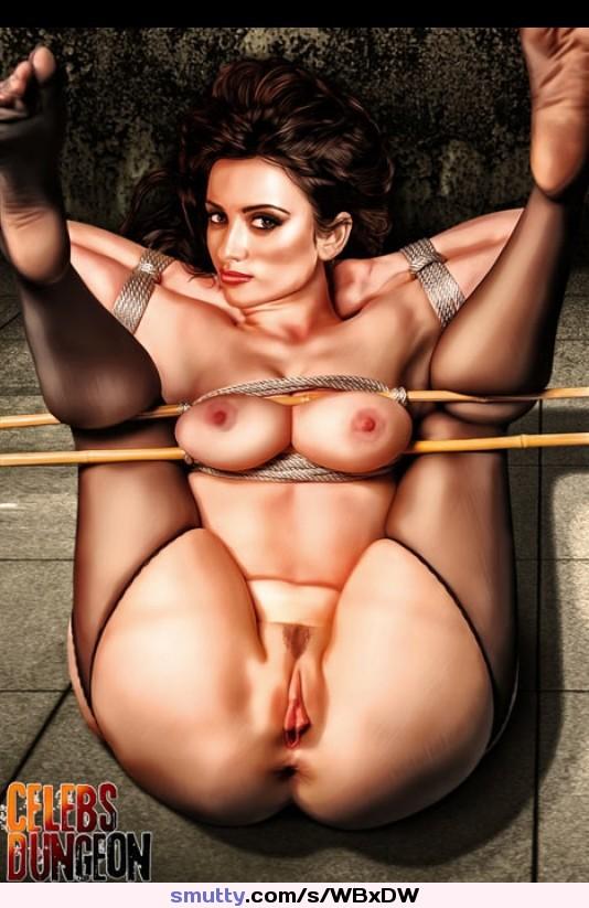 Porn pics of penelope cruz naked