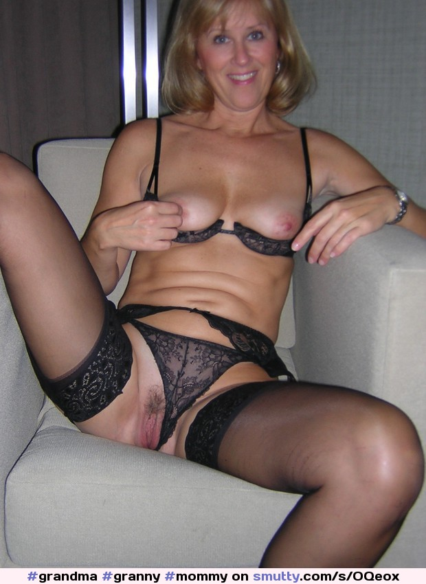 #grandma #granny #mommy #blueeyes #shorthair #spreadlegs #pussy #boobs #milf #spread #lingerie