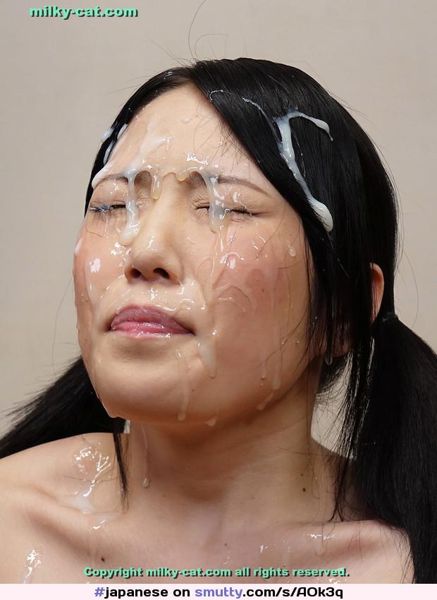 Naked japanese facial news