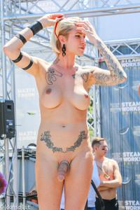 Transvestites bound gagged