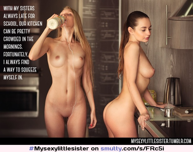 #Mysexylittlesister #sister #brother #incest #siblings #BrotherSister #milk #kitchen #goodmorning