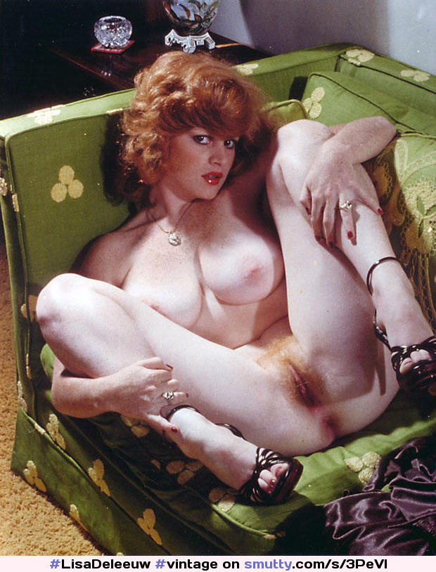 Lisadeleeuw Vintage Redhead Ginger Heels Pale Freckles Nicebreasts Hairy Firecrotch  -6086